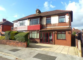 Thumbnail 5 bed semi-detached house for sale in Curzon Road, Offerton, Stockport, Cheshire