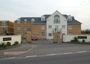 Thumbnail 2 bed flat to rent in London Road, Ashford, Middlesex