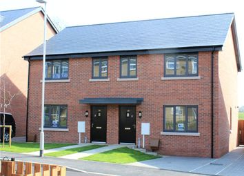 Thumbnail 2 bedroom semi-detached house for sale in Dyrham Place, Oakham, Rutland