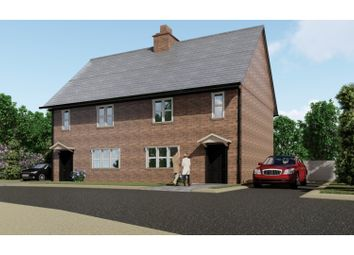 Thumbnail 3 bed semi-detached house for sale in Silver Close, Market Drayton