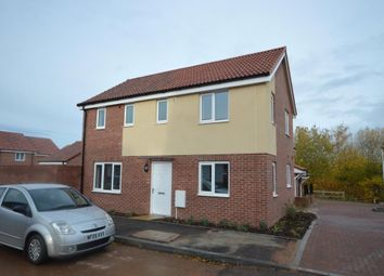 Thumbnail 3 bed detached house to rent in Myrtlebury Way, Exeter, Devon