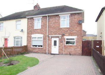 Thumbnail 3 bed semi-detached house for sale in Harper Avenue, Stretton, Burton-On-Trent