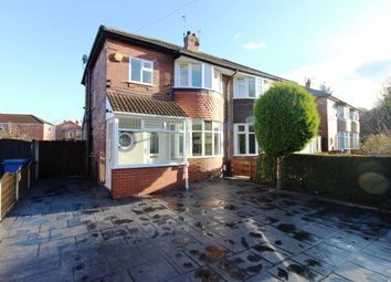 Thumbnail 3 bed semi-detached house for sale in Demmings Road, Cheadle, Cheshire