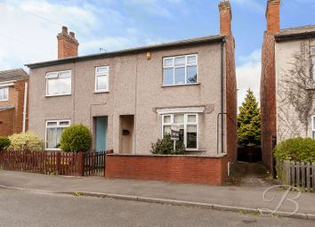 Thumbnail 3 bedroom semi-detached house for sale in Scarcliffe Street, Mansfield