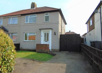 Thumbnail 2 bed semi-detached house for sale in Wolsey Crescent, New Addington, Croydon