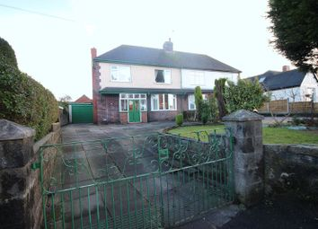 Thumbnail 2 bed semi-detached house for sale in Congleton Road, Biddulph, Stoke-On-Trent
