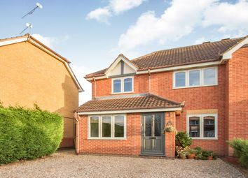Thumbnail 3 bed semi-detached house for sale in Leveret Drive, Whetstone, Leicester