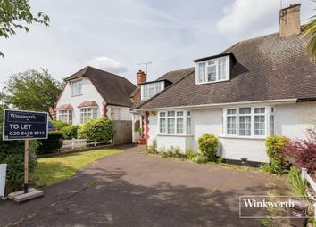 Thumbnail 4 bed semi-detached house to rent in Purley Avenue, London