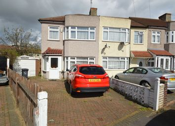 Thumbnail 3 bed end terrace house for sale in Rosslyn Avenue, Chadwell Heath, Romford