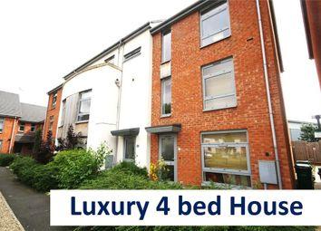 Thumbnail 4 bedroom town house to rent in Nazareth Road, Lenton, Nottingham