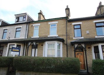 Thumbnail 4 bedroom terraced house to rent in Grantham Road, Great Horton, Bradford