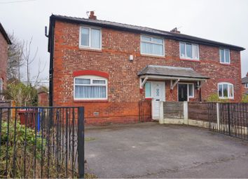 Thumbnail 3 bedroom semi-detached house for sale in Overlea Drive, Manchester