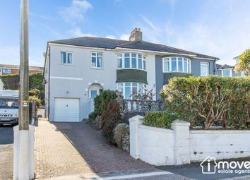 Thumbnail 5 bed semi-detached house for sale in Perinville Road, Babbacombe, Torquay