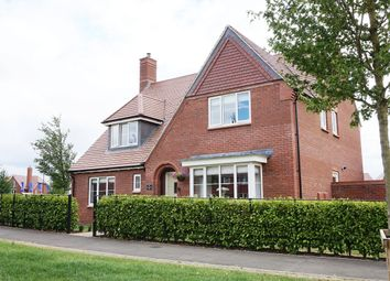 Thumbnail 5 bed detached house for sale in William Morris Way, Tadpole Garden Village, Swindon