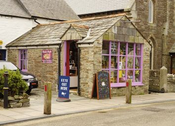 Thumbnail Property for sale in Bossiney Road, Tintagel