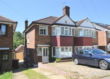 Thumbnail 3 bed semi-detached house to rent in Hillcrest Way, Epping