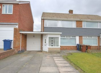 Thumbnail 3 bedroom semi-detached house for sale in Beckside Gardens, Chapel House, Newcastle Upon Tyne