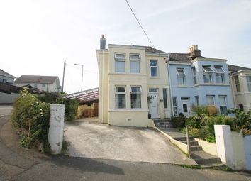 Thumbnail 3 bed end terrace house for sale in Glebe Avenue, Saltash, Cornwall