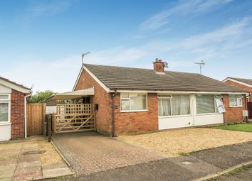 Thumbnail 2 bed semi-detached bungalow for sale in Lacon Road, Bramford, Ipswich