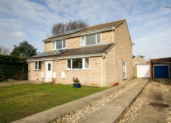Thumbnail 2 bed semi-detached house for sale in Orchard Close, Woodbridge