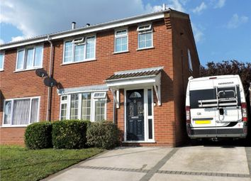 Thumbnail 3 bed semi-detached house for sale in Platters Close, Ipswich, Suffolk