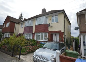 Thumbnail 3 bed semi-detached house for sale in Church Manorway, London