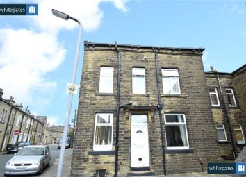 Thumbnail 3 bed terraced house for sale in Clapham Street, Denholme, Bradford, West Yorkshire