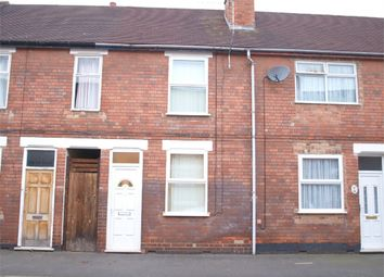 Thumbnail 2 bedroom terraced house for sale in Balfour Street, Burton-On-Trent, Staffordshire