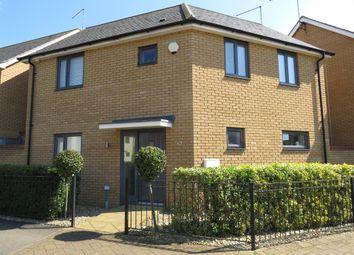 Thumbnail 3 bed detached house for sale in Selkirk Drive, Oakridge Park, Milton Keynes