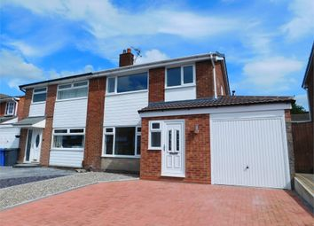 Thumbnail 3 bed semi-detached house to rent in Lichfield Road, Radcliffe, Manchester