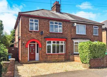 Thumbnail 3 bed semi-detached house for sale in Hazel Gardens, Wisbech