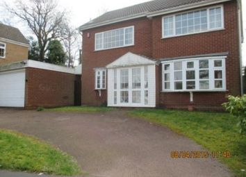Thumbnail 4 bedroom property to rent in The Spinney, Handsworth Wood, Birmingham