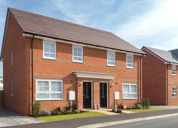 "Thumbnail 3 bedroom semi-detached house for sale in ""Maidstone"" at High Street, Felixstowe"