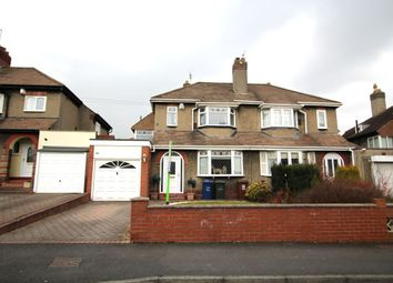 Thumbnail 3 bed semi-detached house for sale in The Roman Way, West Denton, Newcastle Upon Tyne