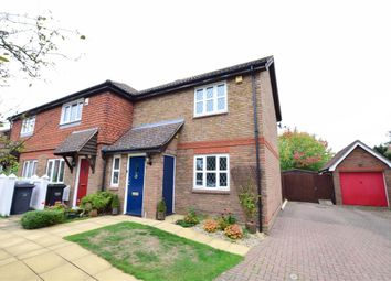 Thumbnail 2 bed end terrace house for sale in Sturmer Court, Kings Hill, West Malling, Kent
