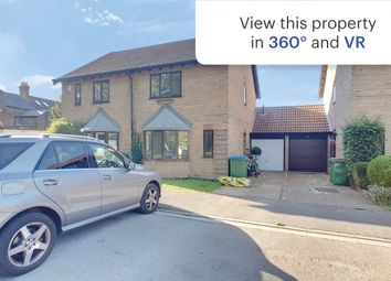 Thumbnail 3 bed semi-detached house for sale in Stonebanks, Walton-On-Thames