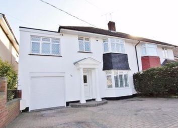 Thumbnail 4 bed semi-detached house for sale in Rectory Road, Hadleigh, Benfleet