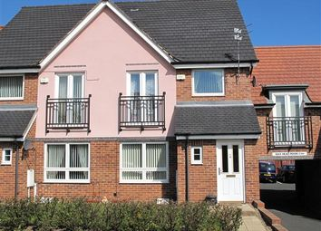 Thumbnail 3 bed semi-detached house to rent in Howard Walk, Barley Rise, Ashington