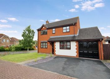 Thumbnail 4 bed detached house for sale in Chatsworth Road, Abbey Meads, Swindon