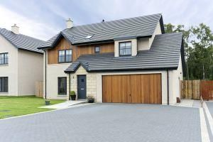 Thumbnail 4 bed detached house to rent in Kintore, Inverurie