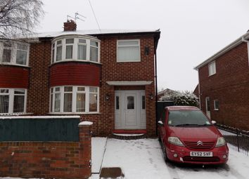 Thumbnail 4 bed semi-detached house to rent in Hewitson Road, Darlington