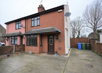 Thumbnail 3 bed semi-detached house for sale in Carlton Road, Lowestoft