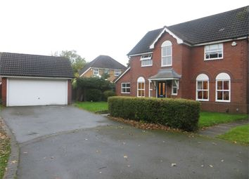 Thumbnail 4 bed detached house for sale in Glaston Drive, Hillfield, Solihull