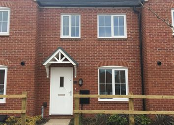 Thumbnail 2 bed terraced house for sale in Liberty Gardens, Barkby Road, Syston, Leicestershire