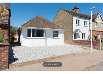 Thumbnail 3 bed bungalow to rent in Belmont Road, Westgate-On-Sea
