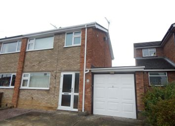 Thumbnail 3 bed semi-detached house to rent in Kempton Road, Ipswich