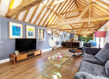 Thumbnail 5 bed barn conversion for sale in Brighton Road, Shermanbury, Horsham, West Sussex
