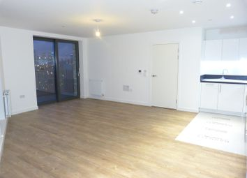 Thumbnail 2 bed flat to rent in Kingfisher Heights, 2 Bramwell Way, Royal Docks