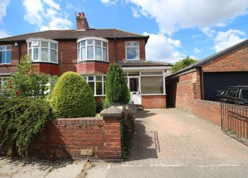 Thumbnail 3 bed semi-detached house to rent in Northfield Road, Gosforth, Newcastle Upon Tyne