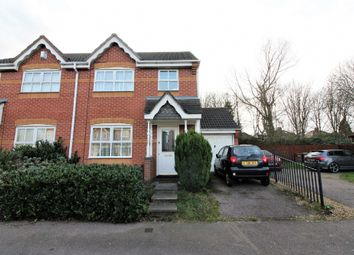 Thumbnail 3 bed semi-detached house for sale in Riverbank Road, Willenhall